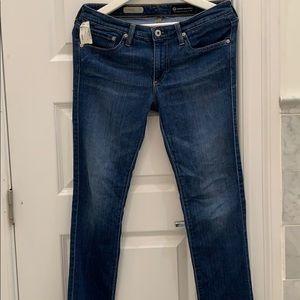 AG Adriano Goldschmied Stevie slim straight jeans